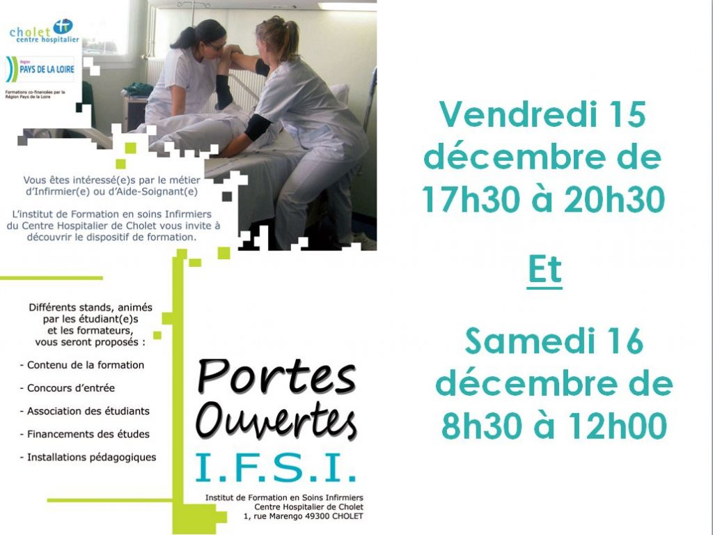 Portes ouvertes IFSI-IFAS CH CHOLET 2017